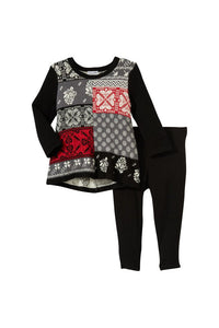 Jacquard Fairisle Set
