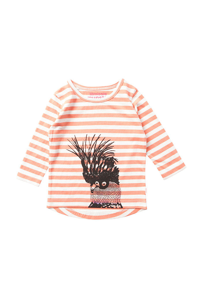 Sharkey Coral Stripe Shirt