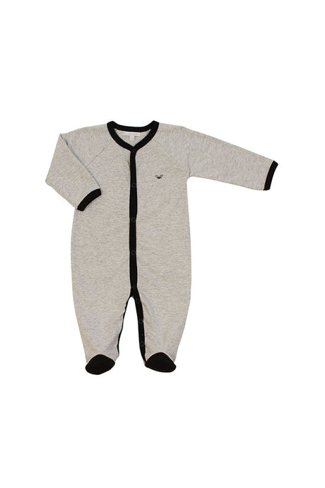 Grey Onesie Footie