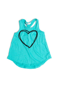 Twist Back Heart Tank