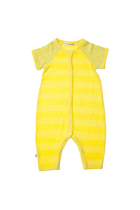 Yellow Submarine Raglan Romper