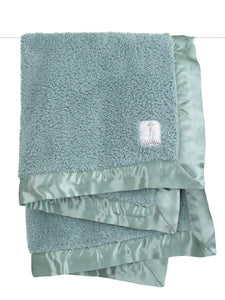 Chenille Baby Blankets in Five Colors