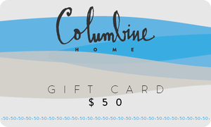 Columbine Home Online Gift Card