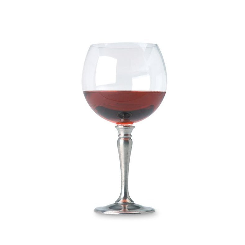 Match Balloon Wine Glass Crystal