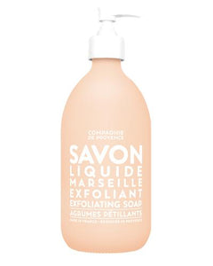 Savon Liquid Marseille Exfoliant Soap Agrumes Petillants - Sparkling Citrus 16.7oz