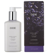 Load image into Gallery viewer, ODE Hand and Body Lotion 10oz