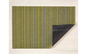 Chilewich Skinny Stripe Shag Utility Rug in Six Colors