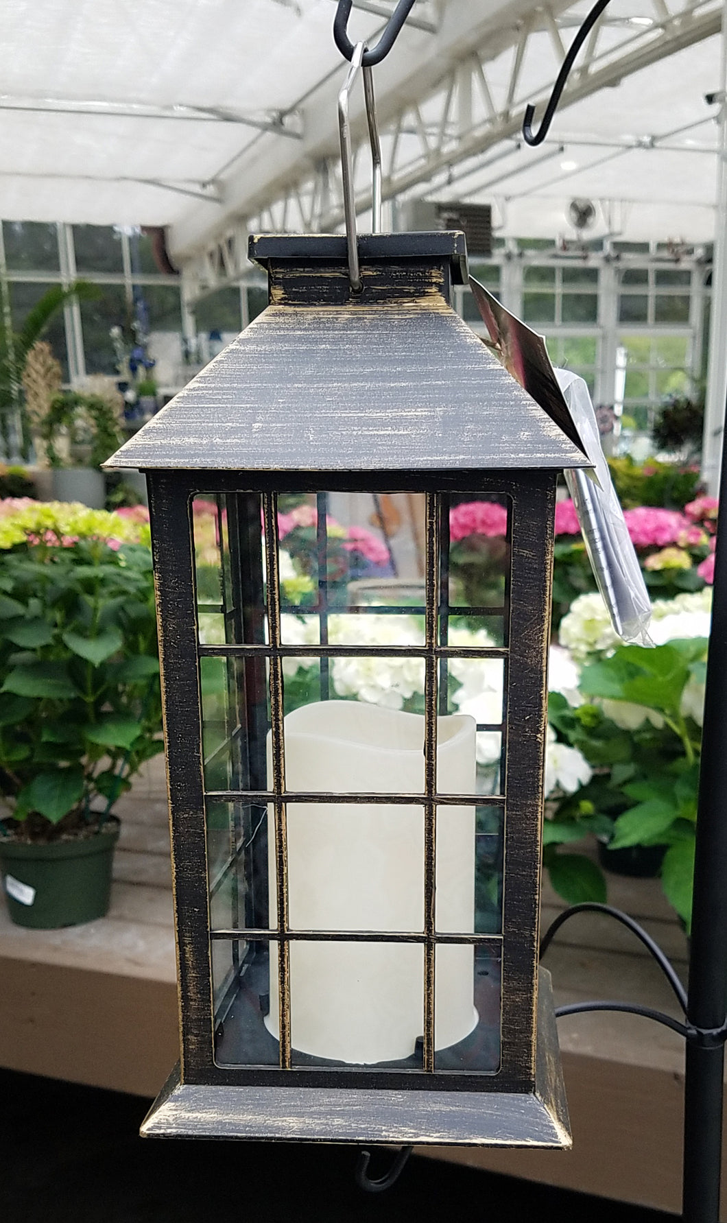 Solar Lantern with LED Candle