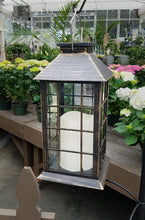 Load image into Gallery viewer, Solar Lantern with LED Candle