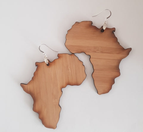 Bamboo Africa Earrings