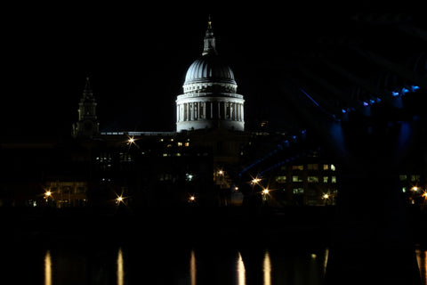 London At Night  - St Pauls Cathedral