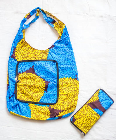 Begileso Bags - Blue/Yellow/brown