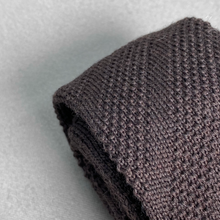 Load image into Gallery viewer, Brown Knit Tie