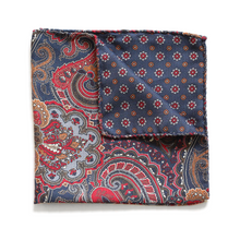 Load image into Gallery viewer, 100% silk pocket square