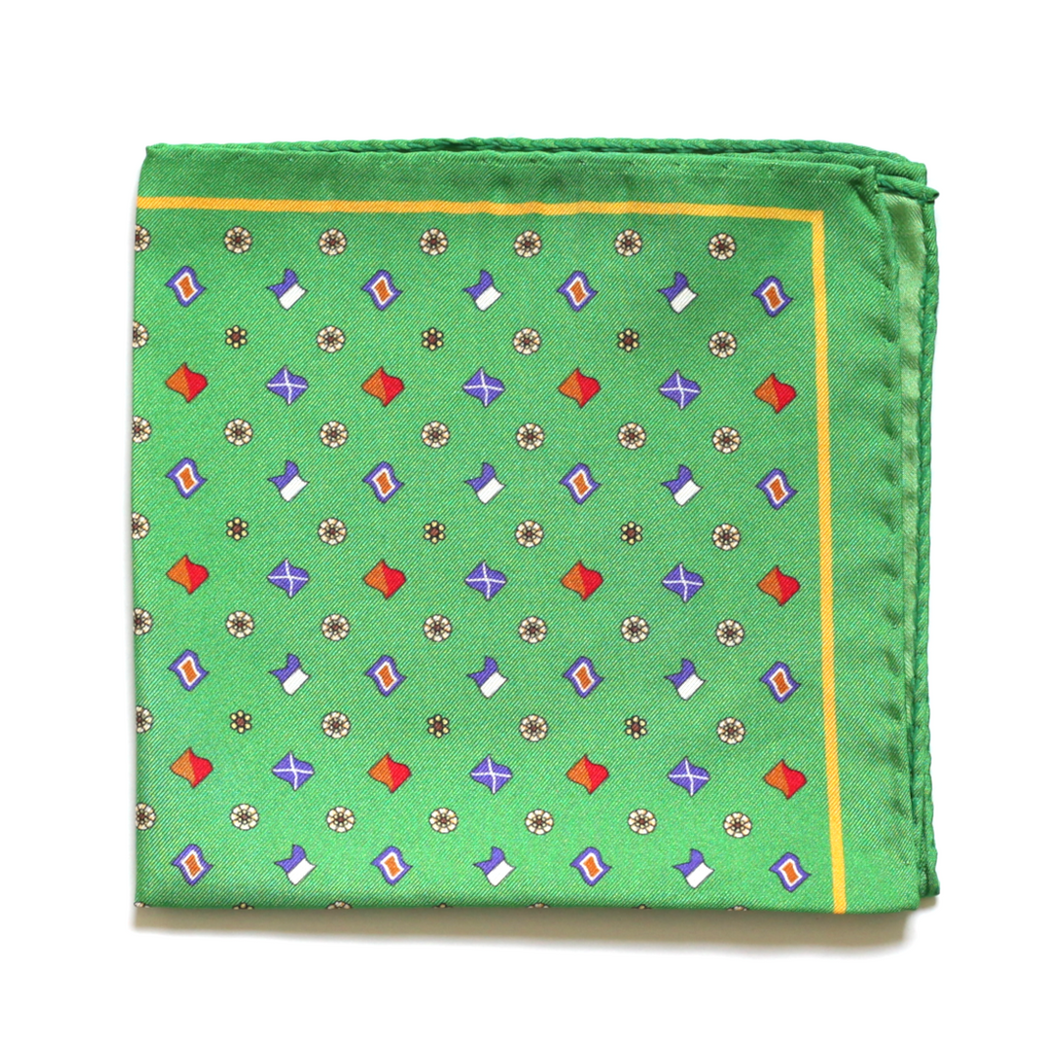 100% silk pocket square