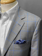 Load image into Gallery viewer, Olliver Grey Windowpane Jacket