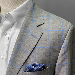 Olliver Grey Windowpane Jacket