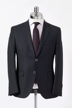 Load image into Gallery viewer, Slim Fit Charcoal Single Breasted Suit