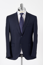 Load image into Gallery viewer, Slim Fit Navy Single Breasted Suit