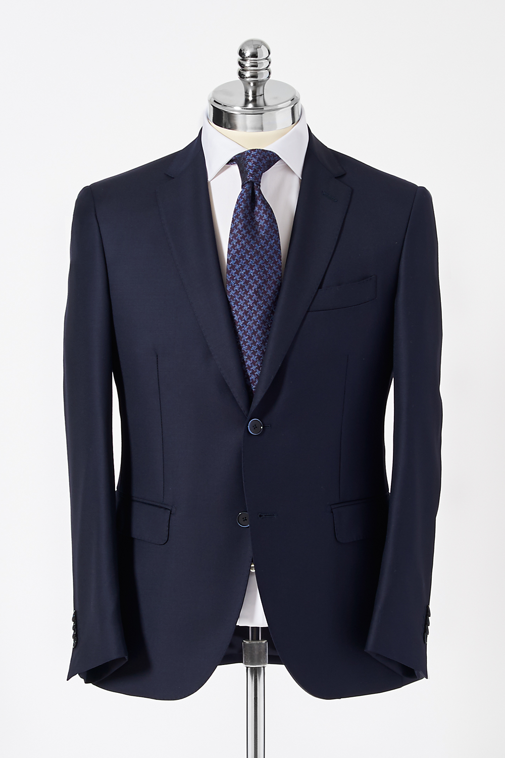 Slim Fit Navy Single Breasted Suit