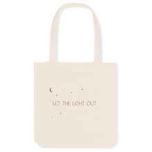 Load image into Gallery viewer, Let The Light Out - The Canvas Tote Bag