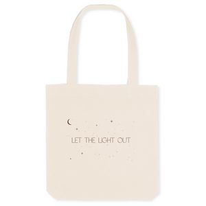 Let The Light Out - The Canvas Tote Bag