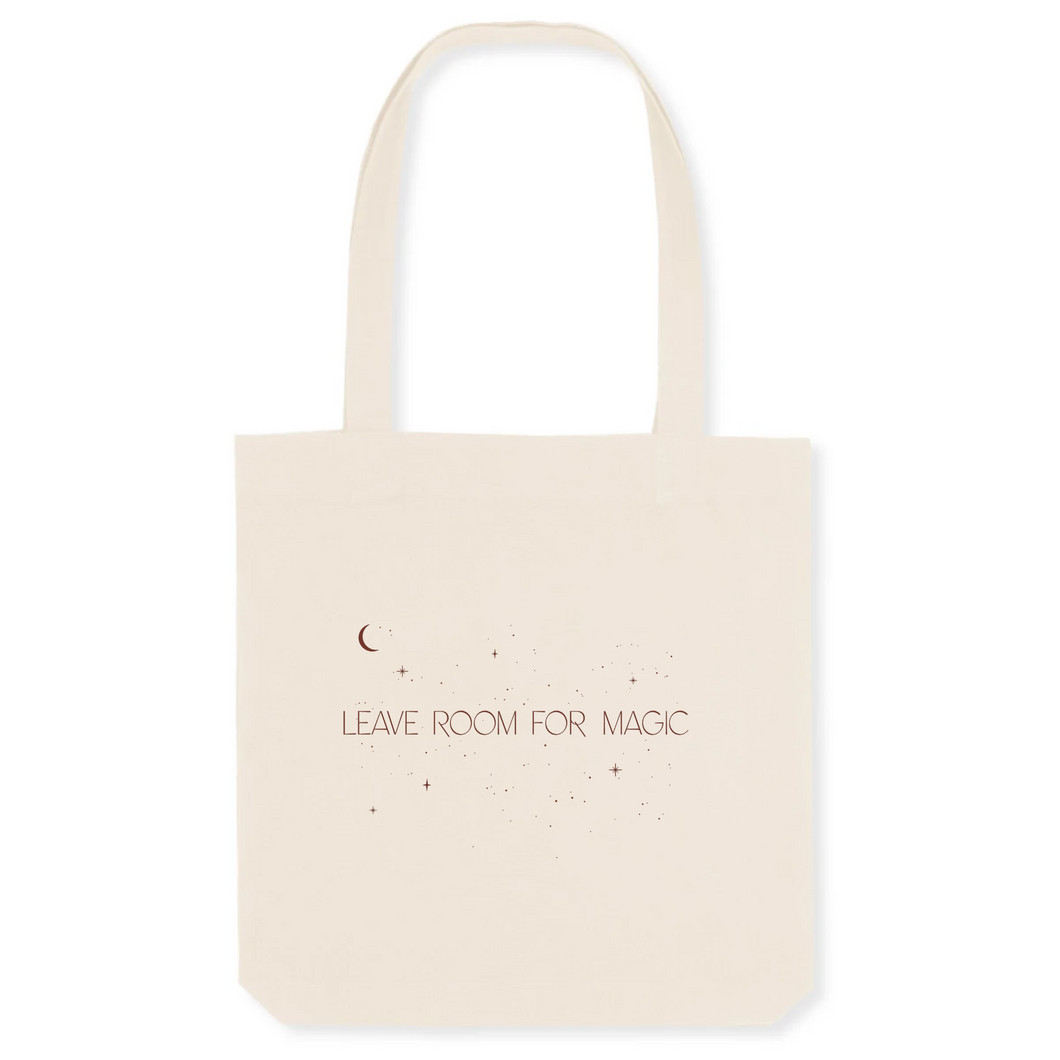 Leave Room for Magic - The Canvas Tote Bag