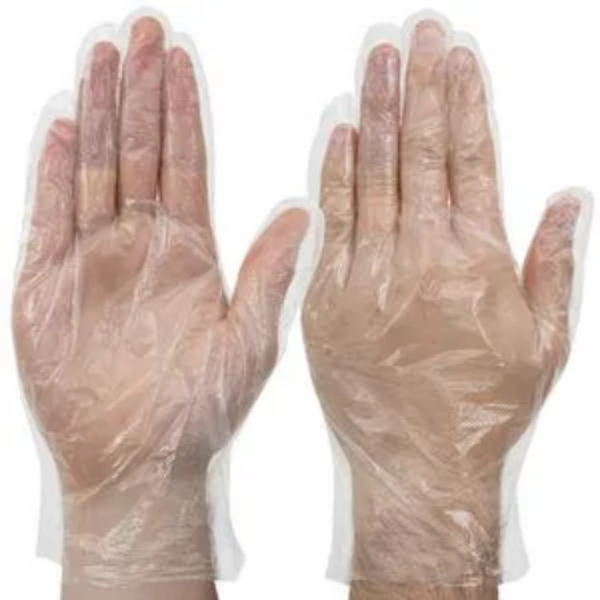 Disposable Low Density PE Gloves - Powder Free (Pack of 500 pcs)