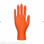 Portwest A930 Orange HD Nitrile Disposable - Powder Free (Pack of 100pcs)