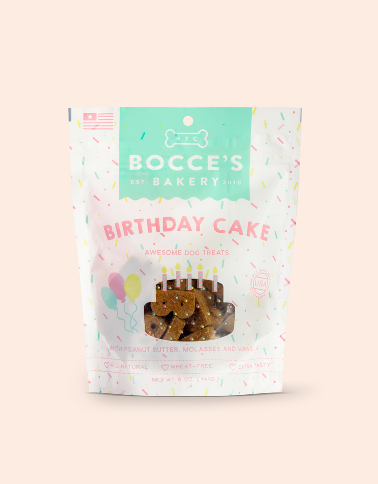 Bocce's Bakery - Crunchy Treats 6oz