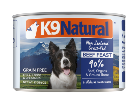 K9 Natural - Beef Feast 13oz cans