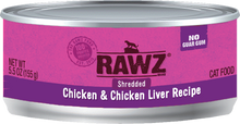 Load image into Gallery viewer, Rawz Cat - Shredded Cans 3oz