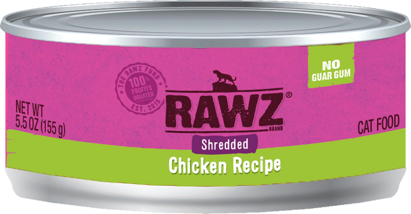 Rawz Cat - Canned Food 5.5oz