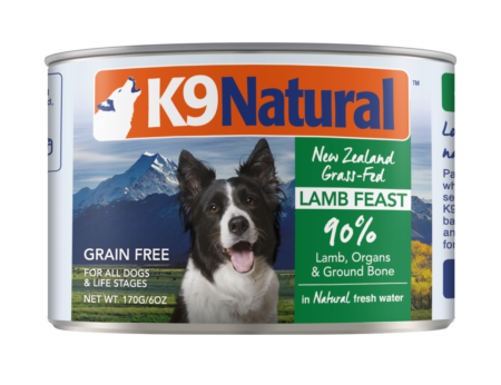 K9 Natural - Lamb Feast 13oz cans