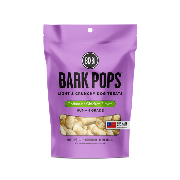 Bixbi - Bark Pops - 4oz