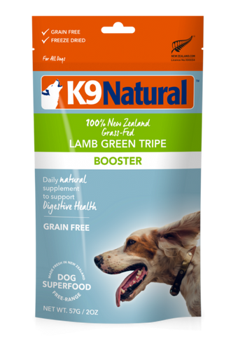 K9 Natural - Freeze Dried Lamb Green Tripe 7oz