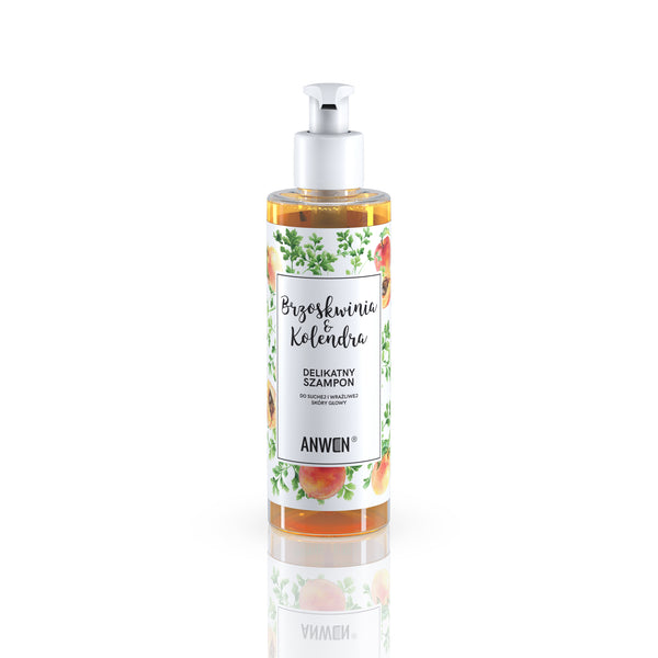 PEACH AND CORIANDER SHAMPOO for dry and sensitive scalp