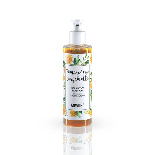 ORANGE AND BERGAMOT SHAMPOO for normal and oily scalp