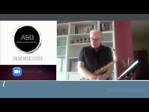 Keith Wilson - 30 Minute Saxophone, Flute, Clarinet and Recorder lesson