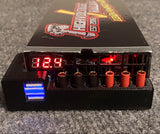 Highvoltage Racing 1100w power supply with LED lighting, voltage gauge and dual USB Ports