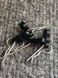 Highvoltage Racing Body Clip Pulls with Body Clips (4)