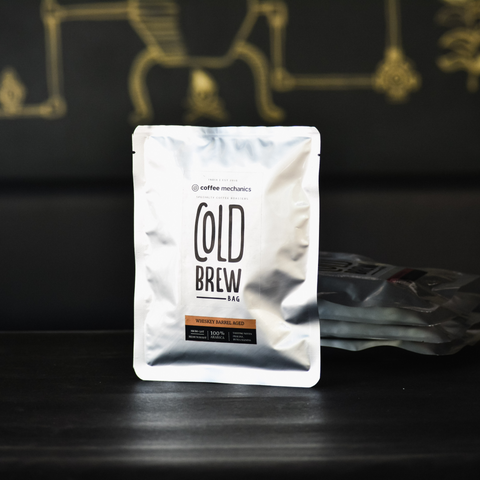Cold Brew Bags - Barrel Aged Coffee - Coffee Mechanics
