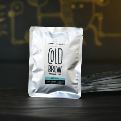 Cold Brew Bags - Left Hook - Coffee Mechanics