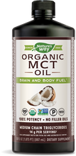 Load image into Gallery viewer, Nature's Way Organic MCT Oil 30 oz