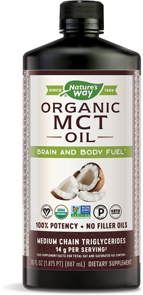 Nature's Way Organic MCT Oil 30 oz
