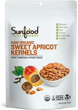 Load image into Gallery viewer, Sunfood Sweet Apricot Kernels 8oz