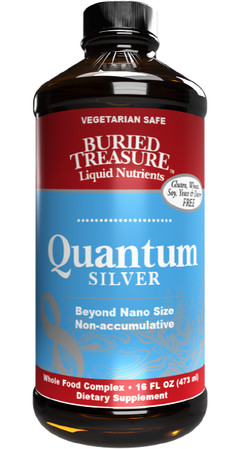 Buried Treasure Quantum Silver Nano Particle 16 oz