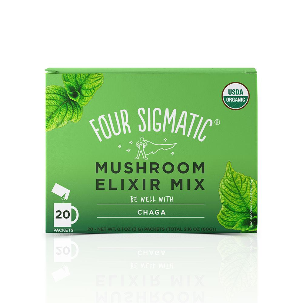 Four Sigmatic Chaga Elixir Box
