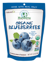 Load image into Gallery viewer, Natierra Freeze Dried Organic Blueberries