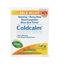 Load image into Gallery viewer, Boiron ColdCalm 60ct